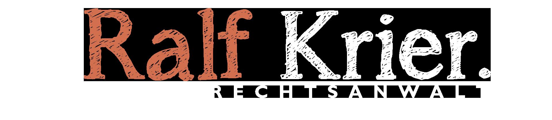 Rechtsanwalt Ralf Krier
